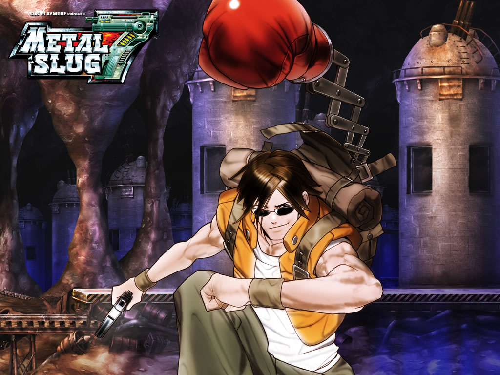 Metal Slug HD & Widescreen Wallpaper 0.15126729473802