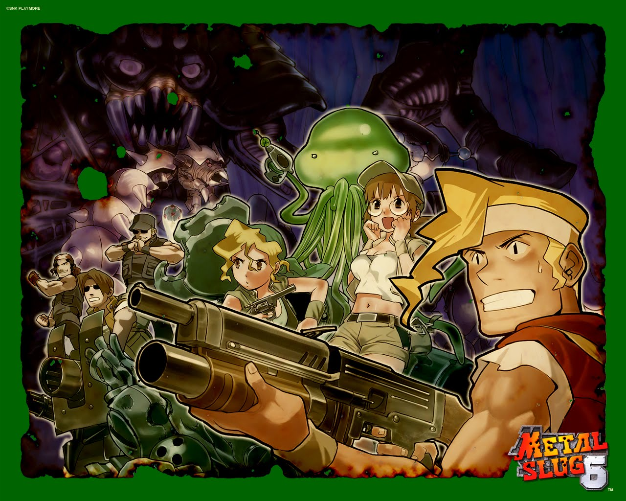 Metal Slug HD & Widescreen Wallpaper 0.162884101830044