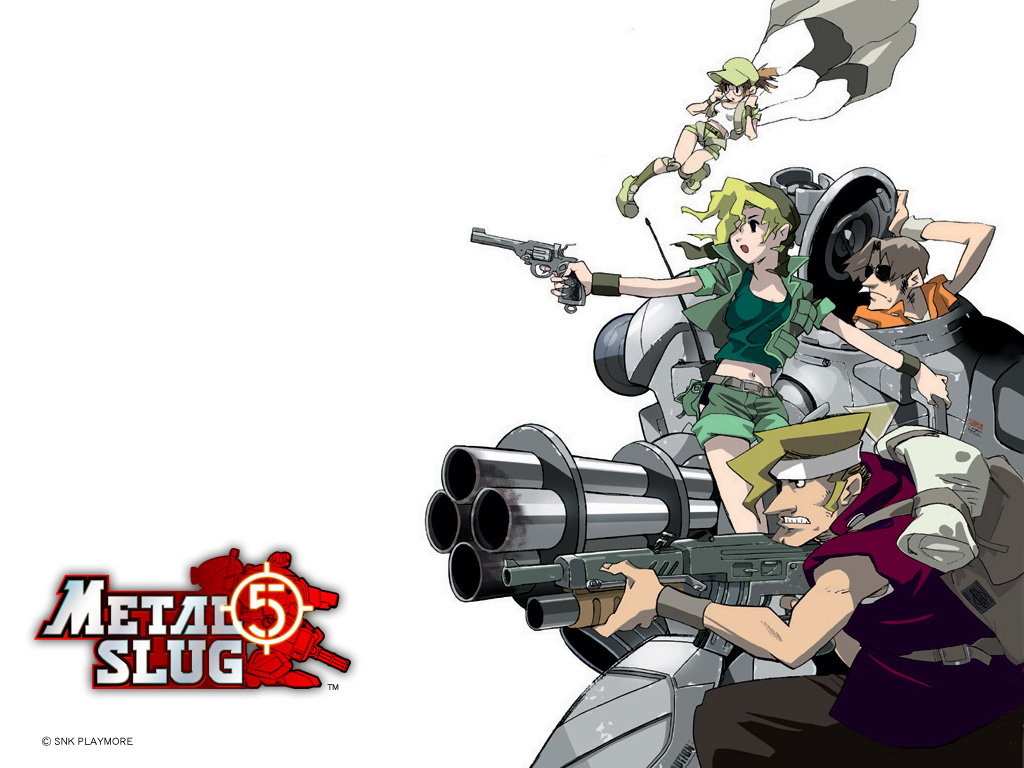 Metal Slug HD & Widescreen Wallpaper 0.985844436946317