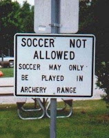 soccer not allowed
