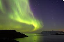 La aurora boreal el mas hermoso paisaje