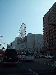 Entering Nagasaki City