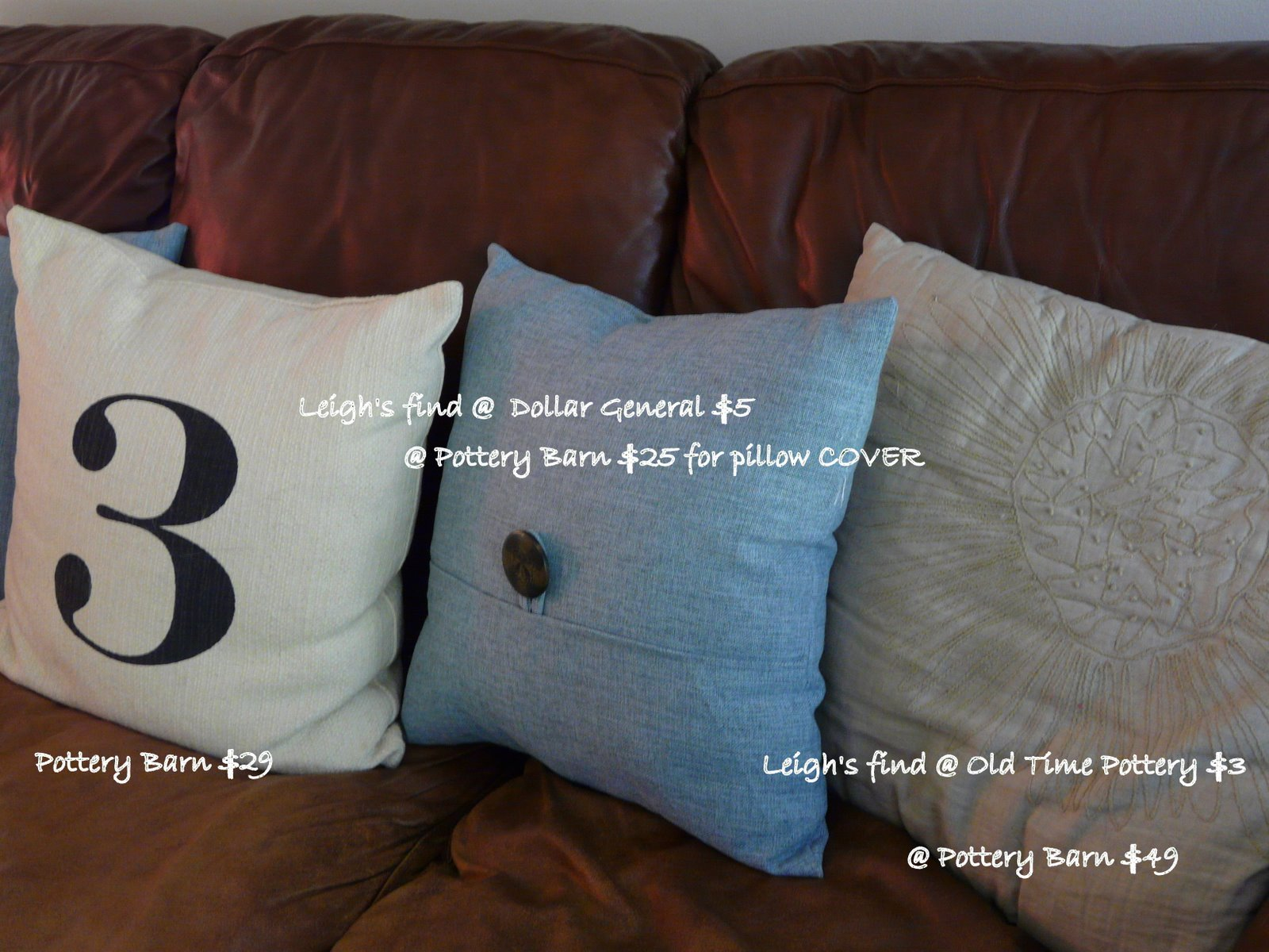 Tales from Bloggeritaville Pottery Barn Inspiration Dollar