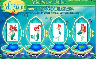 Juego de baile con la Sirenita Ariel
