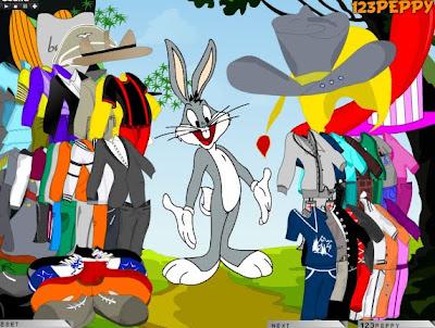 Juego de vestir a Bugs Bunny