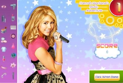 Juego: Hannah Montana musical