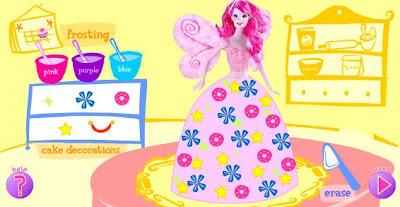 Juegos De Barbie De Cocina | Juego De Vestir A Barbie Cocinera De Tartas Juegos De Barbies Y