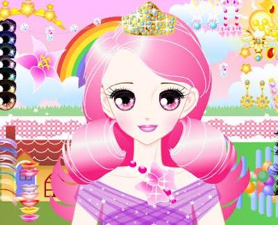 Juegos de maquillaje y joyas para princesas