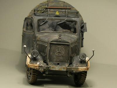 Segunda guerra mundial en miniatura mercedes benz l 3000 gris for Mercedes benz under 3000