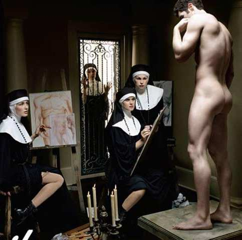 nuns nude ... with nude modeling for photographers, artists and art classes.