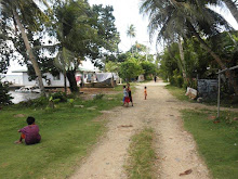 Sapuk, a Village on the Island of Weno