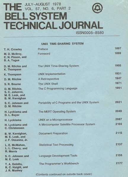 Photons and Electrons: The Bell System Technical Journal - UNIX ...