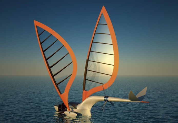 GeoGarage: Sailing aircraft or flying yacht