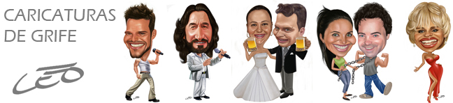 Caricaturas Digitais e Topos de Bolo de Madeira de Qualidade