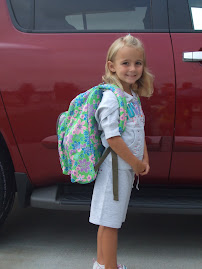 The First Day of Kindergarten!!!!