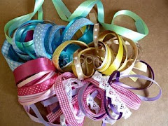 the ribbon girl has some fab ribbons to givewaway on her blog but be quick ends Sun 29 Aug
