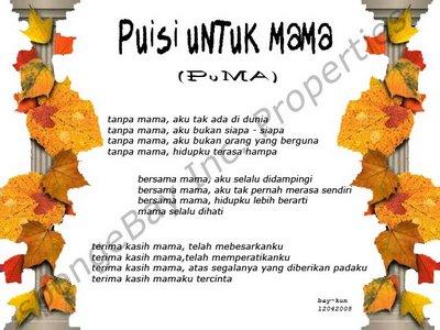 Puisi Untuk Mama