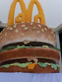 Big Mac's 40th Birthday Cake!