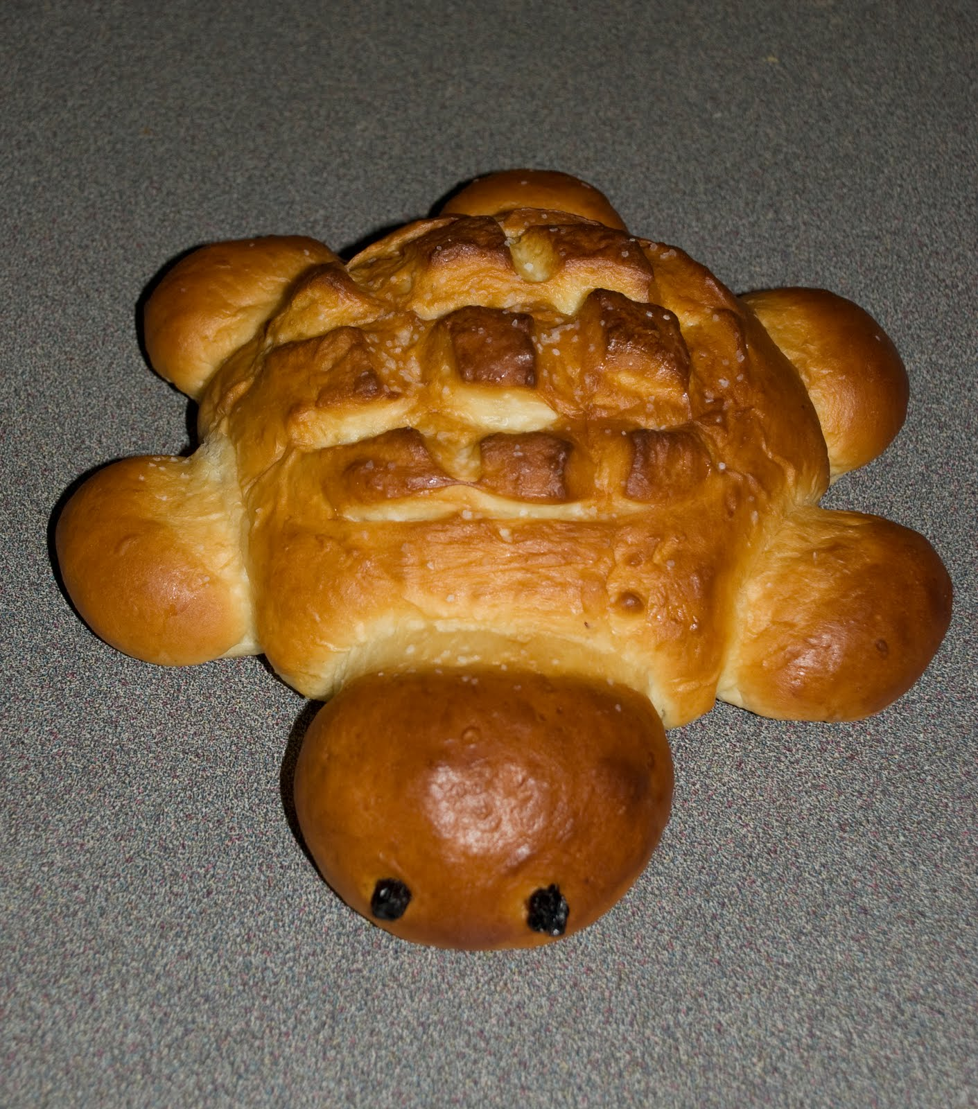 Turtle Bread Recipe Turtle bread 2 1/2 tsp yeast