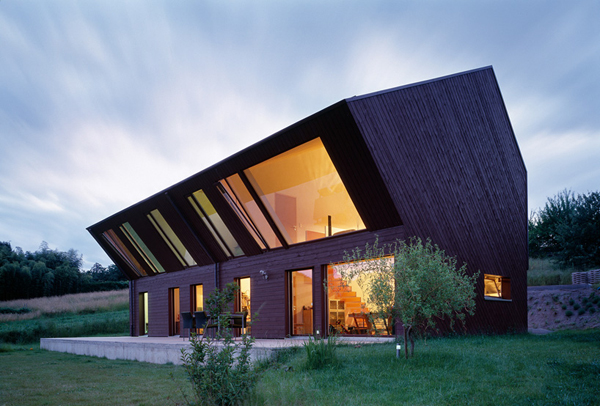 Interior Design  Crooked House In The A Village Swiss Countryside - Simple village house design picture