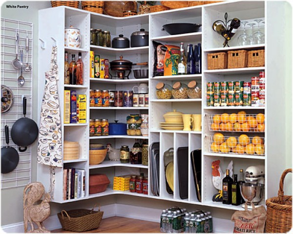 The awesome Increase space organize kitchen pantry picture