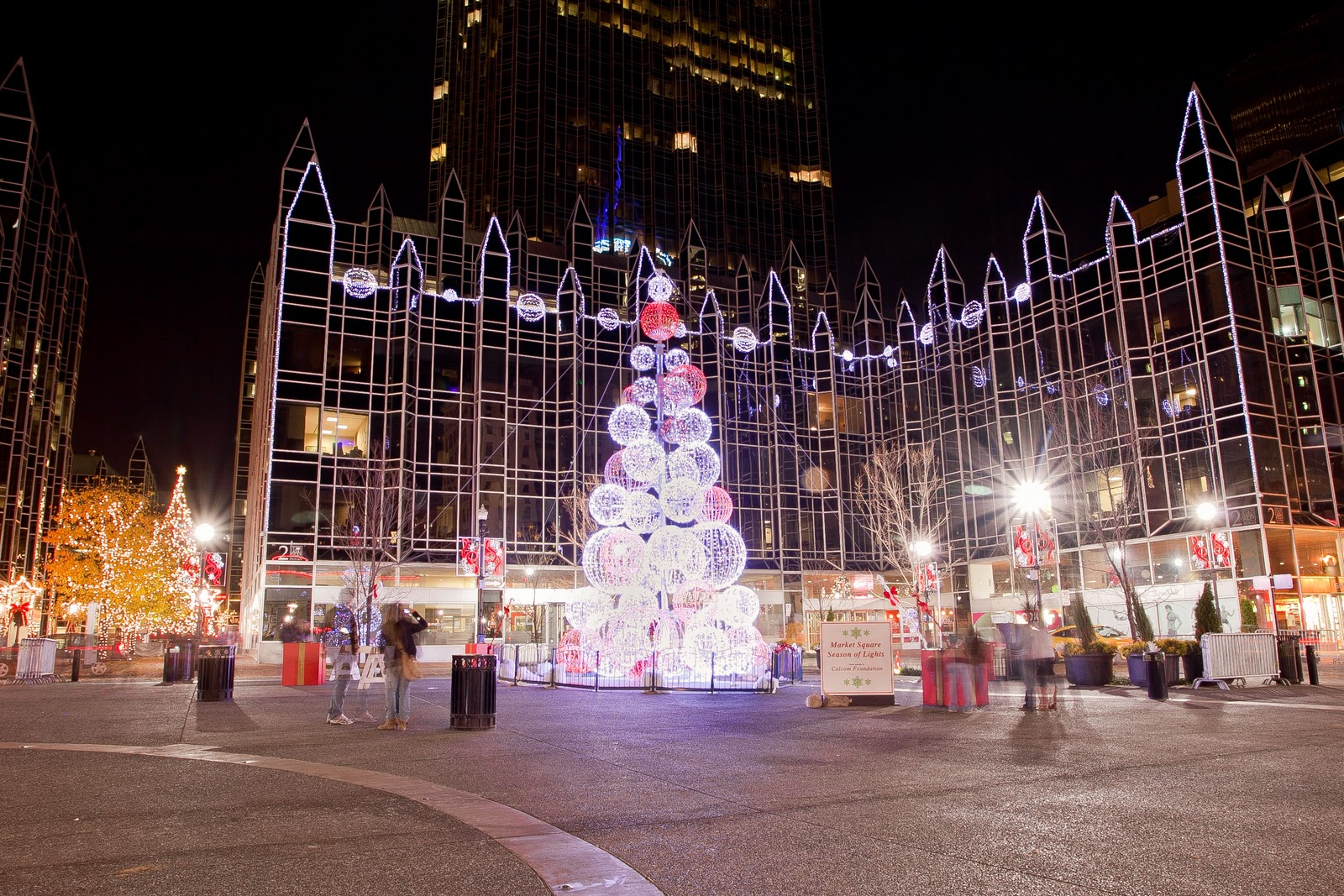 Market Square Pittsburgh: A Winter Wonderland