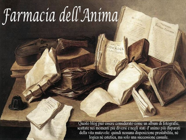 FARMACIA DELL&#39; ANIMA
