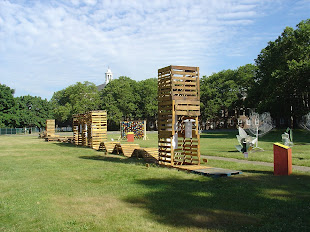 Installation shot: Pallet City