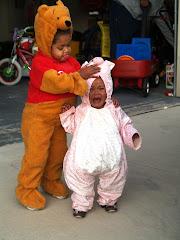 Pooh and Piglet-Neighborhood Parade