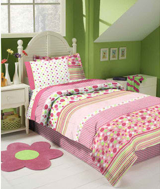 teenage bedding of pink and green polka dots 109 Re: hottest teen star