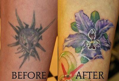 Flower Tattoos By Mirek vel Stotker