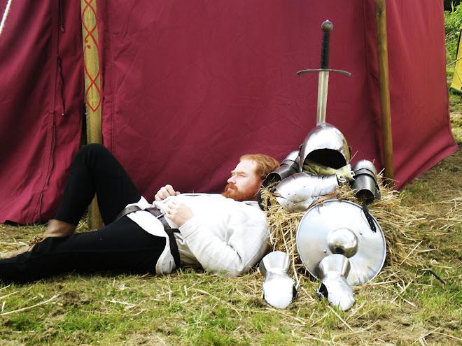 un chevalier au travail