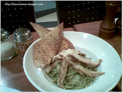pesto, chicken