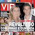 Capa da revista VIP com Simão e Filipa Sabrosa