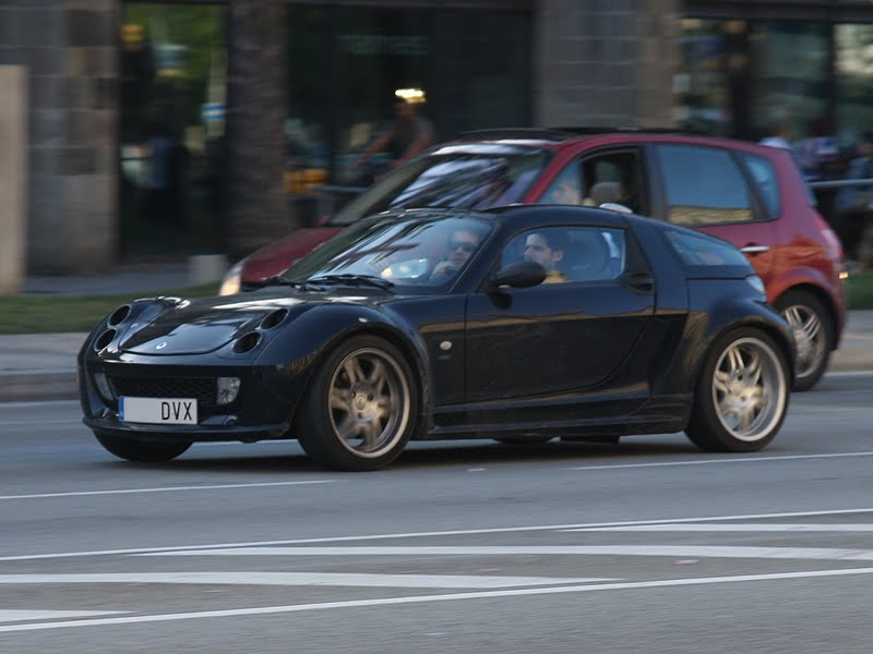 supercotxes smart roadster brabus barcelona. Black Bedroom Furniture Sets. Home Design Ideas