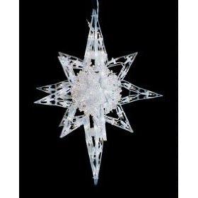 Cs1g bethlehem lighting indooroutdoor 18 inch 120 light star of bethlehem with sphere aloadofball Choice Image