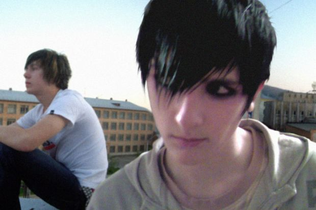 hot emo boys hair sad emo boy