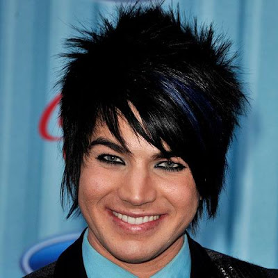 Adam Lambert cool haircuts
