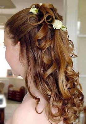 half updos prom hairstyles. prom hairstyles half up half