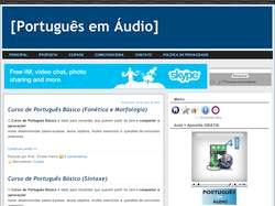 portugues em audio