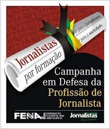 PELO DIPLOMA DE JORNALISTA