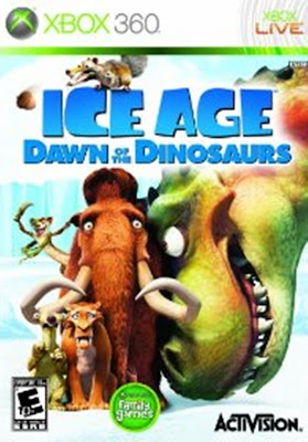 ice age 3,Dawn of the Dinosaurs, video game