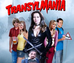 transylmania, poster, cover, front page, image, photo, film, movie, comedy, horror