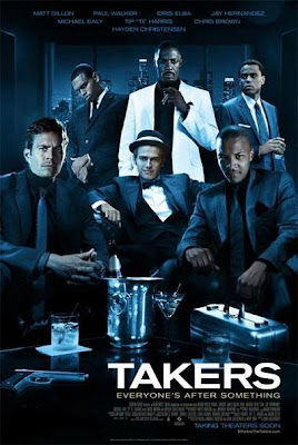 Takers, movie, poster