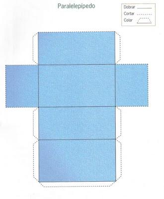 paralelepipedo Figuras Geométricas para crianças