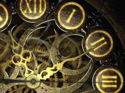 O corrupio louco dos ponteiros - Relógio