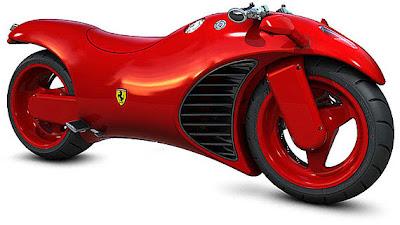 Ferrari V4 Motorcycle Concept