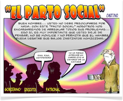No al Pacto Social. CNT-AIT
