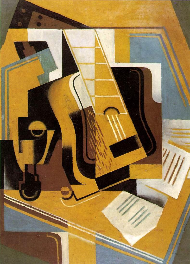 el gran pez  columna de arte  cubismo