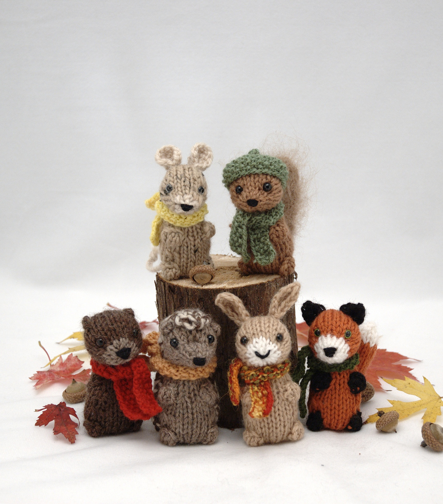 Fuzzy Thoughts: wee woodland wuzzies